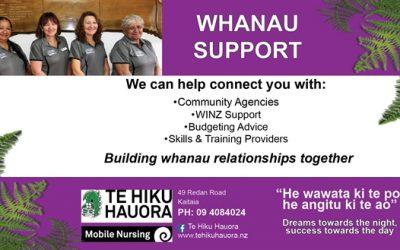 Success for our whanau