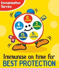 Completed immunisation programme best for baby's health